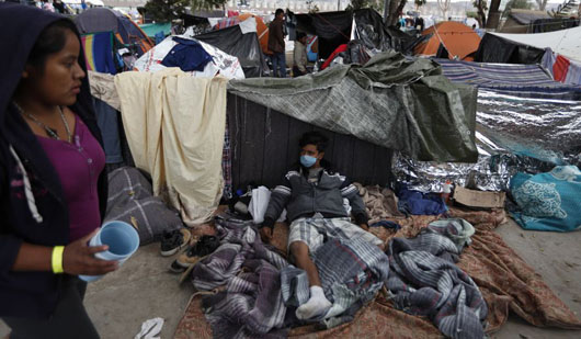 Health fears in Tijuana: Caravan migrants treated for HIV, tuberculosis