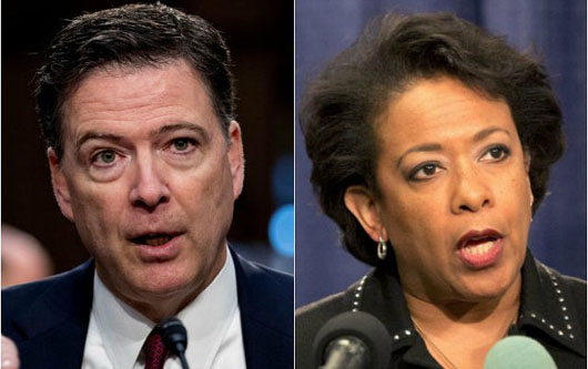 House panel issues year-end subpoenas for Comey, Lynch