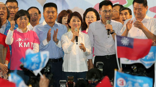 China denies meddling in Taiwan midterms; Pro-Beijing KMT registered strong gains