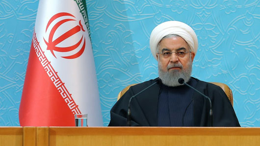 Iran's Rouhani calls on world's Muslims to join holy war against USA-Trump-Israel