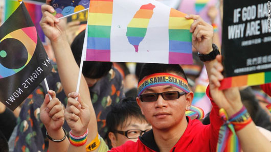Taiwanese voters reject same-sex marriage in referendum