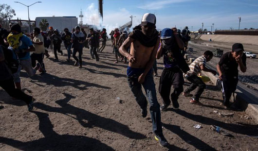 Report: Tear gas used once a month at border – under Obama