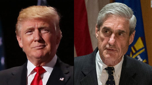 'Nuts': Trump tweets blast Mueller investigation as off the rails