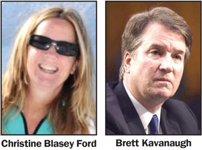 GREATEST HITS, 11:  Who is Christine Blasey Ford? Anti-Trump prof protested on climate and immigration