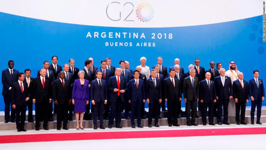 Unreported: Trump won backing at G-20 for WTO reform