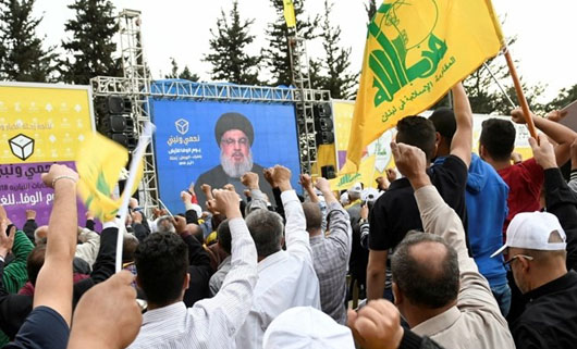 Hizbullah's rising clout in Lebanon's parliament gives State Dept. pause