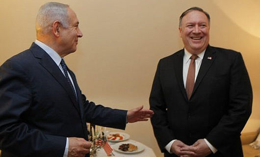 Netanyahu, Pompeo discuss 'Iranian aggression' in Brussels meeting