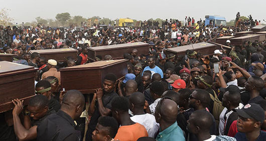 Lawmakers sound alarm on slaughter of Nigerian Christians by militants