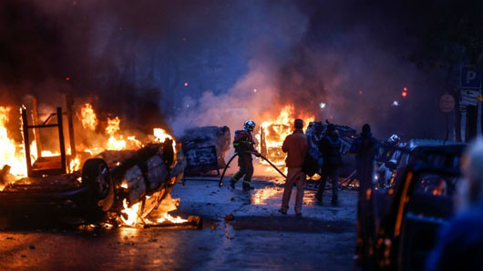 Paris climate change tax revolt shocker: Did Left inject violence?
