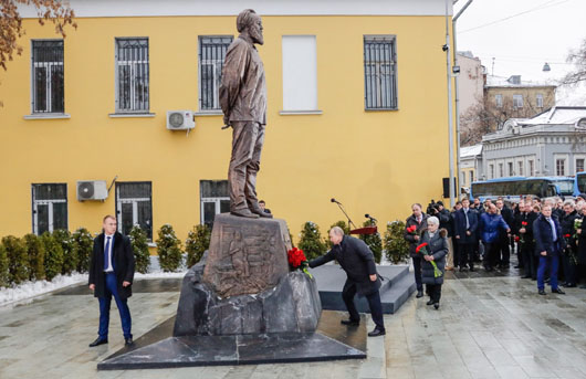 Putin salutes Solzhenitsyn as 'true patriot' who would not abide Russophobia