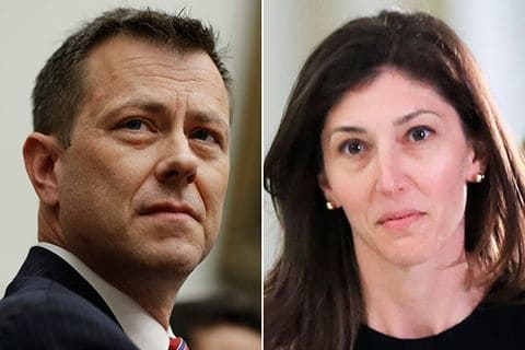 Strzok-Page text messages scrubbed from their Team Mueller phones