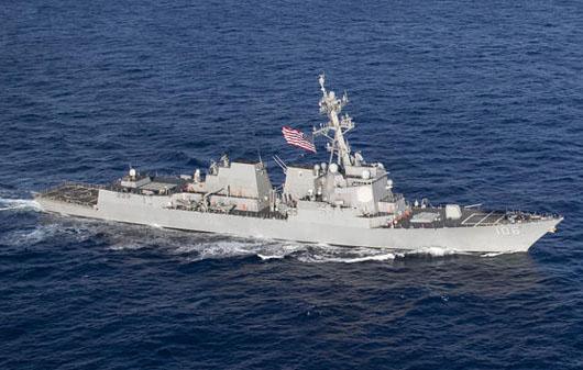 U.S. Navy checks China, establishes new norm for Taiwan Strait