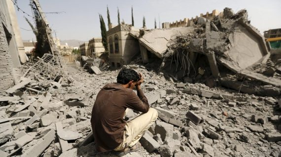 Trump blames Iran for Yemen war as Congress takes aim at Saudis