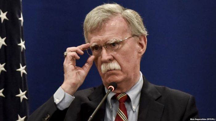 Bolton to discuss Syria, Iran on trip to Turkey and Israel