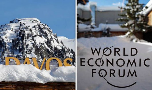 Meanwhile, in Davos, the global elites are circling the wagons