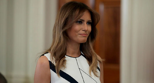 Melania Trump as role model: First Lady is her own woman