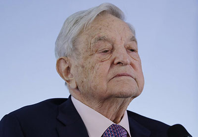 Open borders crusader George Soros shielded by 'massive wall' around ocean-side estate