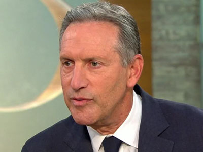 Howard Schultz rebuffs Democrats who say he'll split 2020 vote