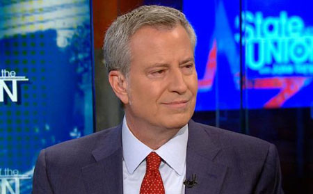New York mayor: 'Wrong people' have all the money