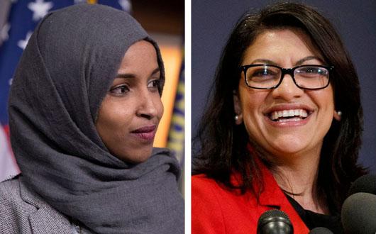 Muslim congresswomen took oath of office with Quran