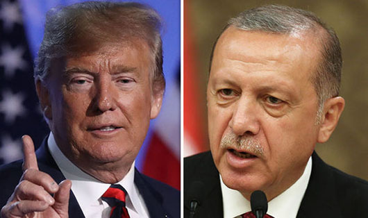 Trump, Erodgan negotiate 'safe zone' in northern Syria