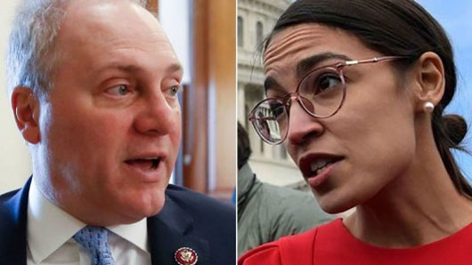 Scalise ends Twitter debate with Ocasio-Cortez after her 'radical followers' urge violence