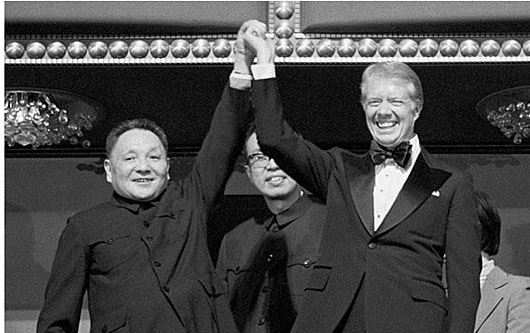 Four decades after Deng Xiaoping's victory tour of U.S., China again threatens Taiwan