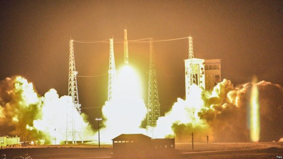 Imagery suggests second attempt by Iran to launch satellite