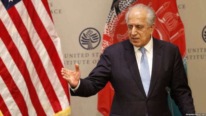 U.S. envoy, Taliban co-founder meet In Qatar for peace talks