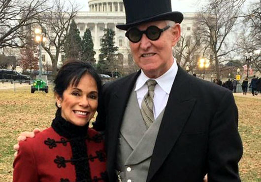 Roger Stone's wife describes early morning raid by '29 armed' FBI agents