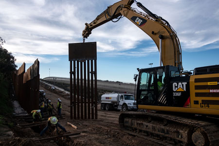 Unreported: President Trump's border wall is going up