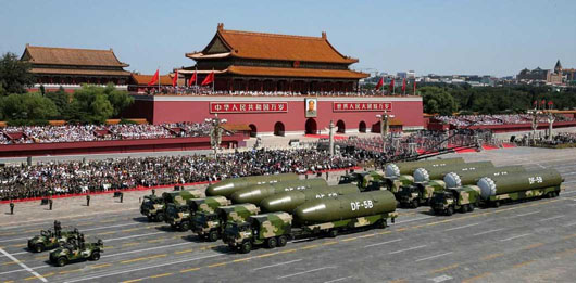 China rebuffs Germany on joining nuclear arms control agreement