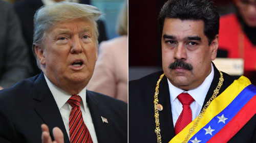 U.S. military intervention in Venezuela an 'option'; Maduro says Trump wants him dead