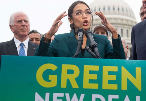 After day of drama about 'Green New Deal', few can explain it