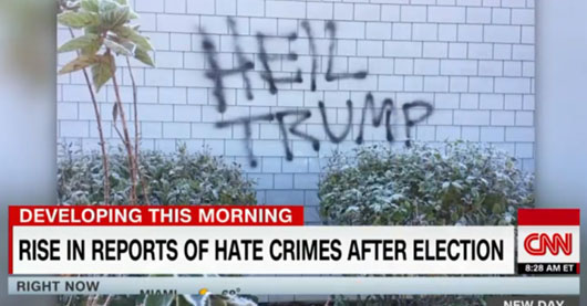 The list of fake hate crimes lengthens in hate-Trump era