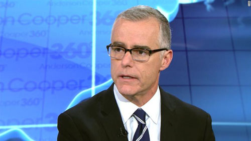 Russian 'dossier'? What dossier? On book tour, McCabe not asked, doesn't tell