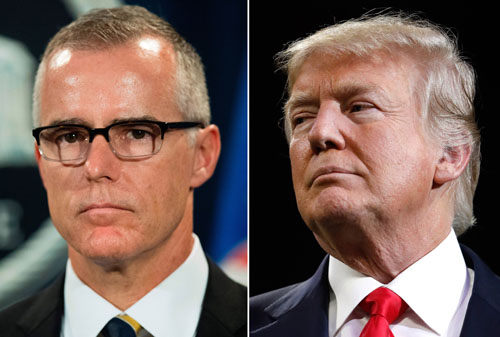Report: McCabe book appears to confirm DOJ plans to remove an elected U.S. president