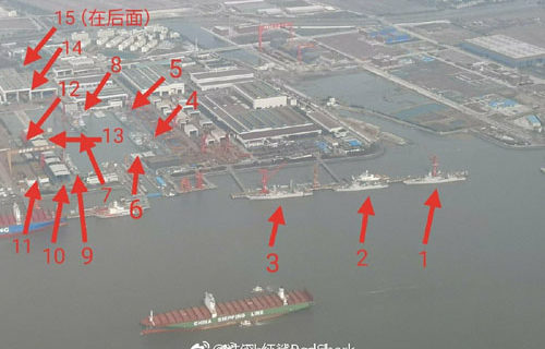 Photos put China's 'galloping military buildup' on vivid display