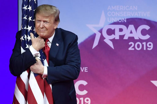 Trump fires up the crowd at CPAC