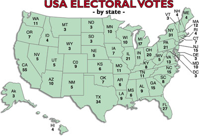 New Mexico, Delaware join pact to give electoral votes to popular vote winner – count now at 189