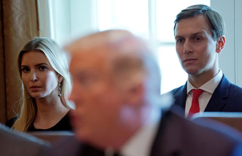 Blood thicker than water: Ivanka and Jared took the heat, ignored swamp
