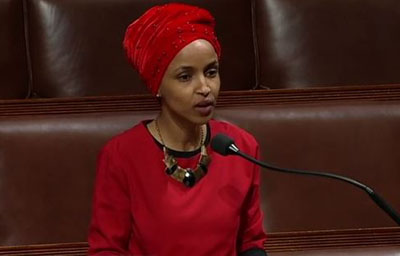 Not an 'emergency' but Rep. Omar blames 'abhorrent' border crisis on 'white nationalism'