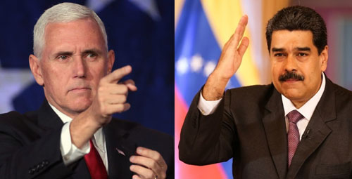 Pence brands Maduro a 'Cuban puppet', revokes visas of 77 officials