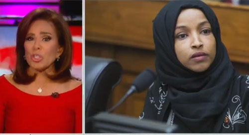 Sharia win? Rep. Ilhan Omar called unscathed as Fox News slaps Judge Jeanine
