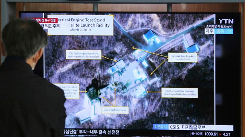Memo from the USA to N. Korea on missile site: What's up with that?
