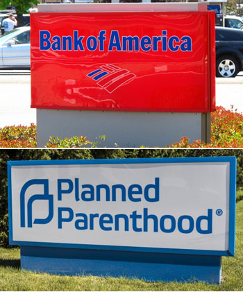 Bank of America mum on charges it donated to Planned Parenthood, SPLC