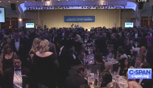 Trump skewers a White House Correspondents Dinner that 'lost its sense of humor'