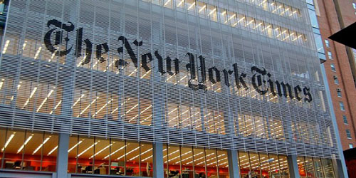 'Cesspool': NY Times, controlled by Jewish family, incurs wrath of Israeli ambassador