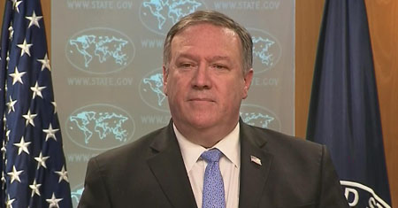 Pompeo's 'American Hostage Freedom Award' revoked after anti-Trump media complains