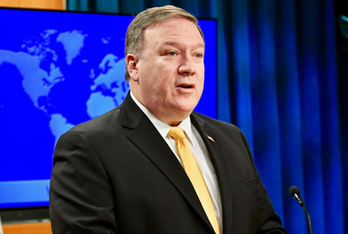 Pompeo in testimony touts coming peace plan, won't commit to 'two state' solution